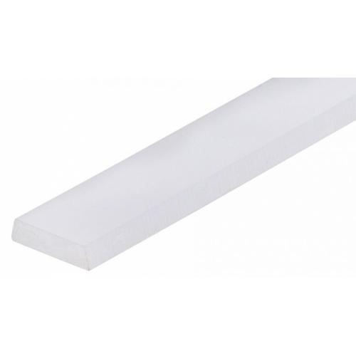 Abdeckung für Profil HR11-2m frosted (weiß,matt)