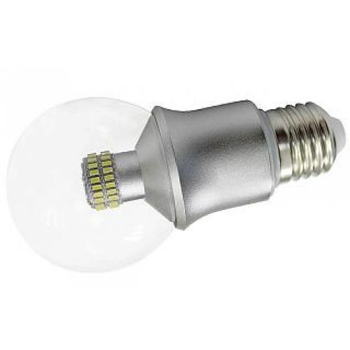 LED-Leuchte in Kugelform E27-G60? 6W, klare G-A, ww
