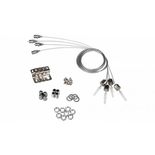 Montageset J-01 für LED-Panels S-620, RE-30(60)120