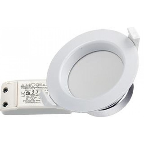 8x LED Downlight IMR90 11W tageslichtweiß, Set inkl. Netzteil