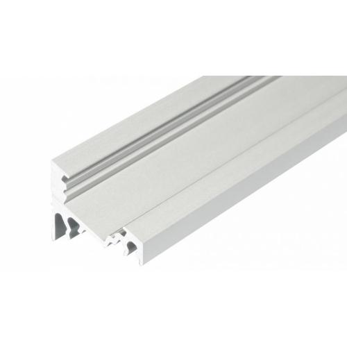 LED Eckprofil CORNER10 2000 2m, eloxiert