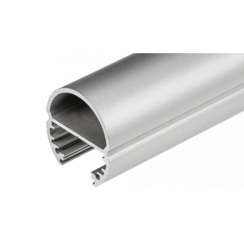 LED Profil OVAL-T-2000, 2m , eloxiert