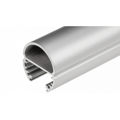 LED Profil OVAL-T-1000, 1m , eloxiert