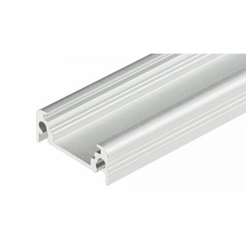 LED Anbauprofil SURFACE10 1m, eloxiert