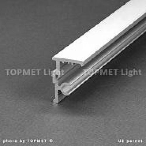 ALU-Glasshalterung T-500 S-Multi-T, eloxiert