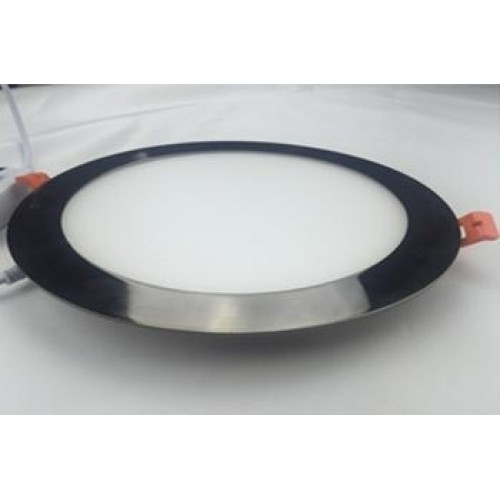 LED Downlight DL-R-175 AB-12W (12 Watt)-ww warmweiß, schwarz