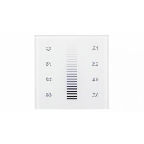 Einbau-Touchpanel SR-2830A-WiFi/RF (230V, 4 CH), white