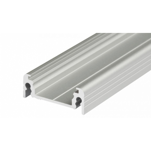 LED Anbauprofil SURFACE14-2000 2m, eloxiert