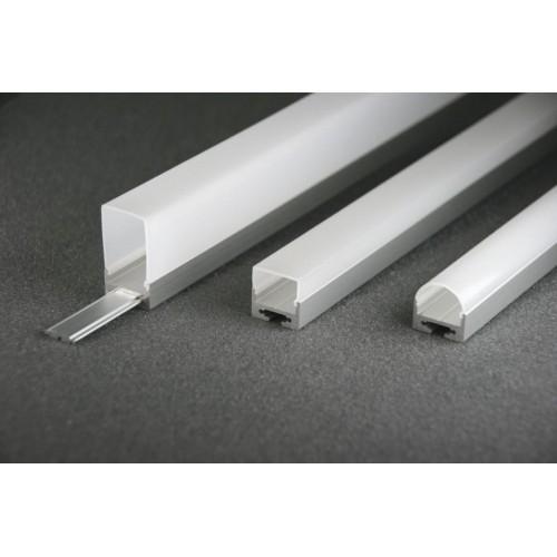 LED Anbauprofil LS-1911-16-1m, eloxiert