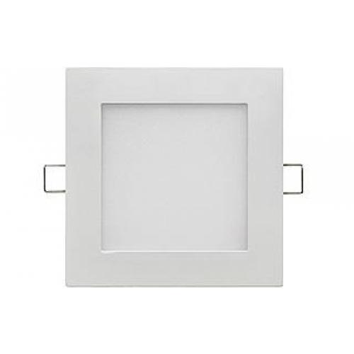 LED Einbauleuchte UF-d-12W-4000K, neutralweiß, eckig Ø146x142, matt weiß, dimmbar, inkl. Netzteil