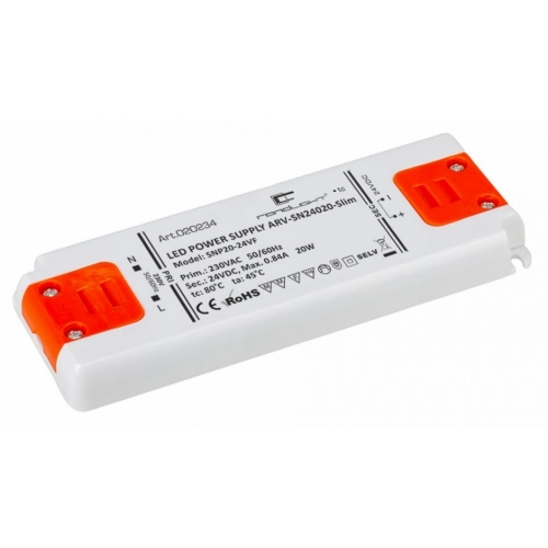 LED Netzteil LSN-slim-24020 (24V, 0.84A, 20W)