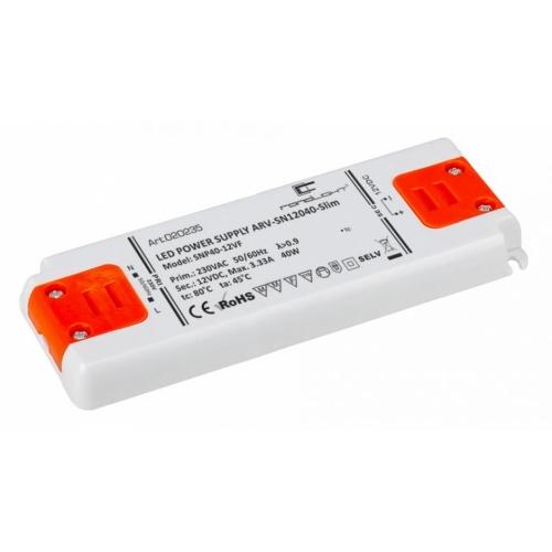 LED Netzteil LSN-slim-12040 (12V, 3.333A, 40W) PFC