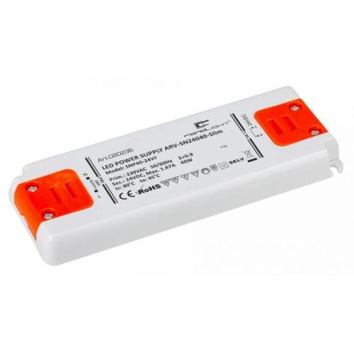 LED Netzteil LSN-slim-24040 (24V, 1.667A, 40W) PFC
