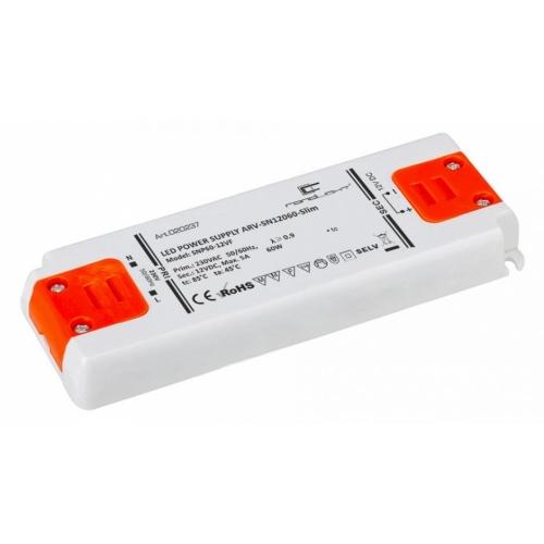 LED Netzteil LSN-slim-12060 (12V, 5A, 60W) PFC