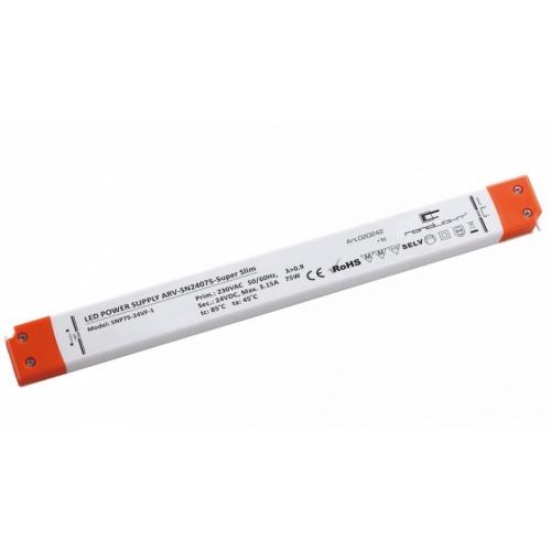 LED Netzteil LSN-superslim-24075 (24V, 3.125A, 75W) PFC