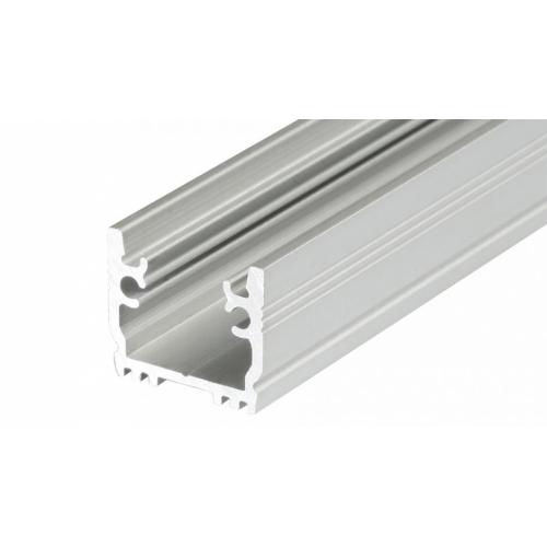 LED Einbauprofil FLOOR-T-12-2m, eloxiert