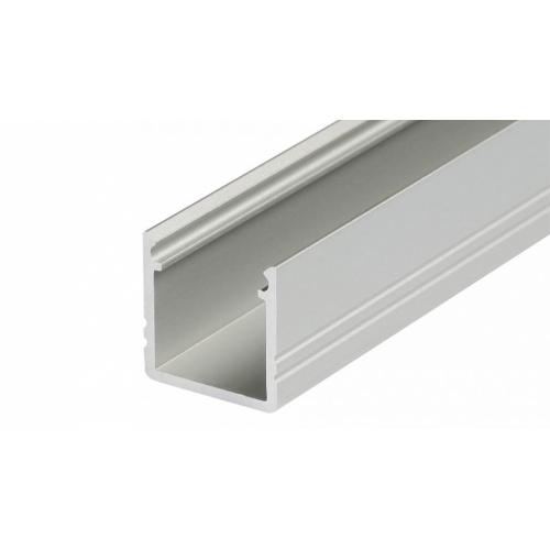 LED Anbauprofil SMART-T-10-2m, eloxiert