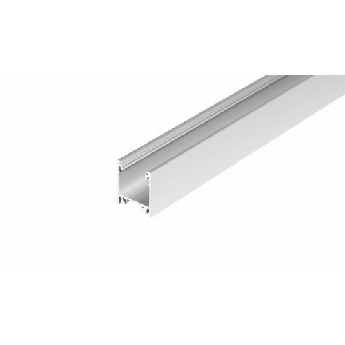 LED Anbauprofil LINEA-T-20-1m, eloxiert