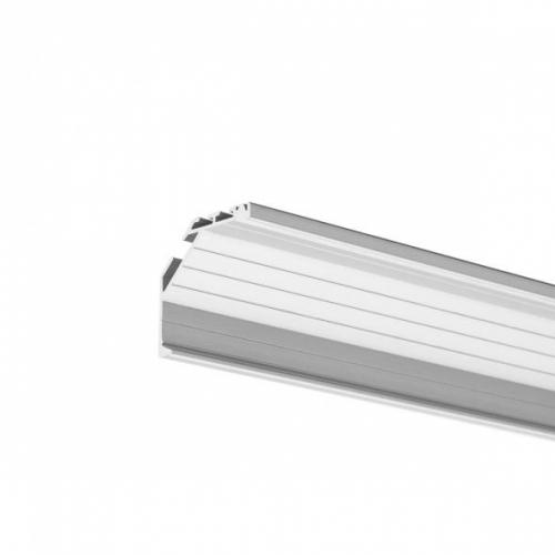 LED Eckprofil KOPRO-21-2000 2m, eloxiert