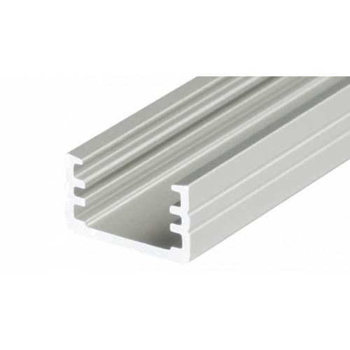 LED Anbauprofil SLIM-T-8-2m, eloxiert