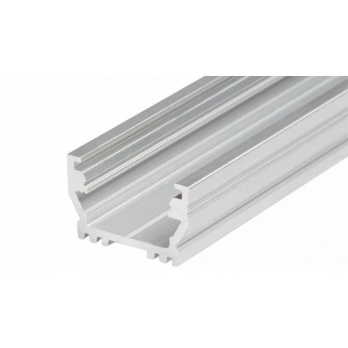 LED Einbauprofil UNI-T-12-2m, eloxiert