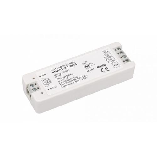 RGB-, W-MIX-Controller Smart-K1 (12-24V, 3x4A, 144-288W)