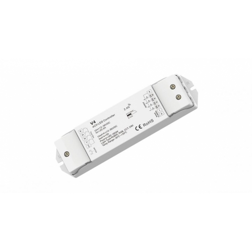 RGB+W-Controller/Dimmer Smart-K2 (12-24V, 4x5A, max.480W)