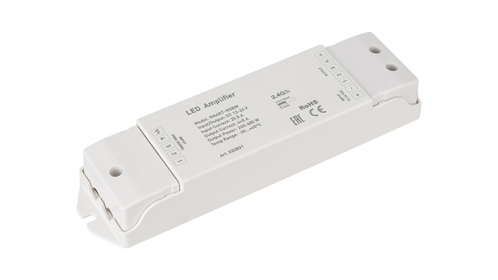 RGB+W-Signalverstärker SMART (12-24V, 240-480W)