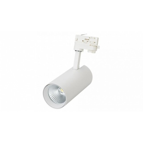 LED Schienenstrahler / Spot LSN-16EA 30W tageslichtweiß, 38°  ( 3-Phasen, weiß )