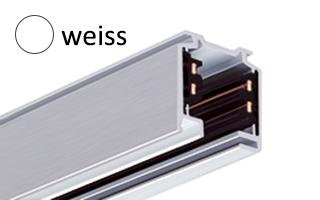 EUTRAC Stromschiene S-AW-3PH-3000, weiß