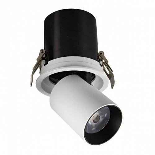 LED Einbaustrahler AZ-R90-W-10W-warmweiß inkl. Netzteil