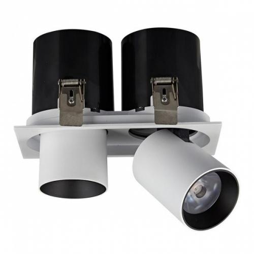 LED Doppel-Einbaustrahler SH-WRE-10185 20W  tageslichtweiß inkl. Netzteil