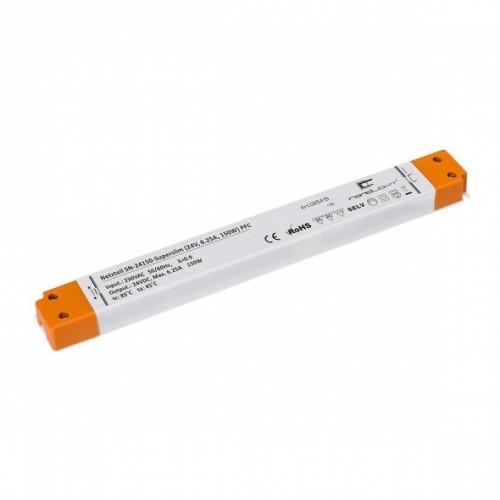 LED Netzteil LSN-superslim-24150 (24V, 6.25A, 150W) PFC