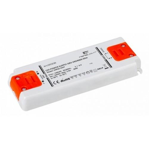 LED Netzteil LSN-slim-24060 (24V, 2.5A, 60W) PFC