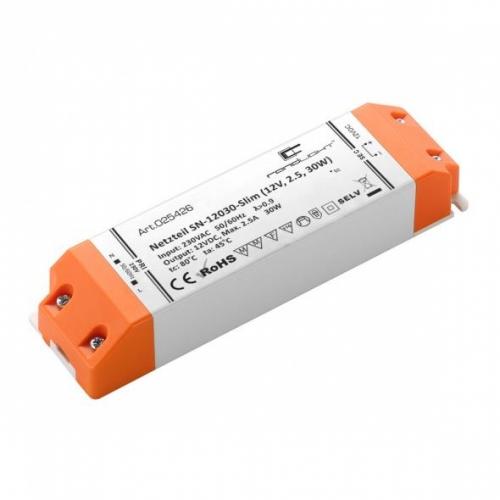 LED Netzteil LSN-slim-12030 (12V, 2.5, 30W)