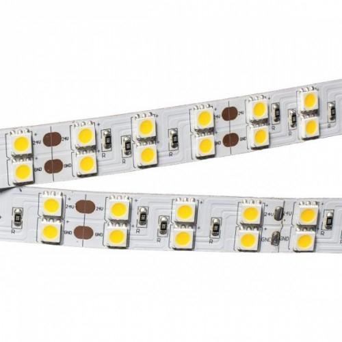 LED Streifen LS2 5m 15mm 24V 144W weiß 600LED (50mm, IP20)