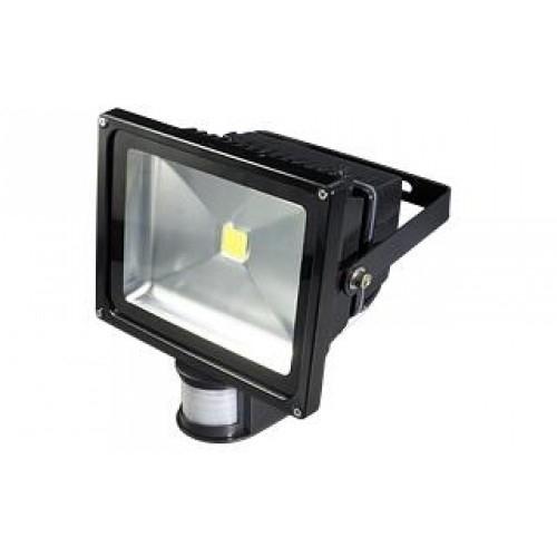 LED Fluter PIR 50W warmweiß