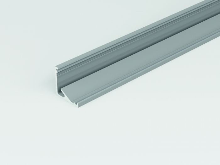 LED Eckprofil CABI12 2m, eloxiert