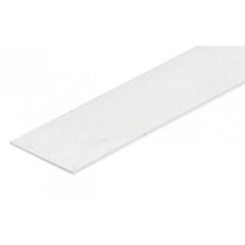Blende klar/transparent 2m für Aluminiumprofil CORNER10