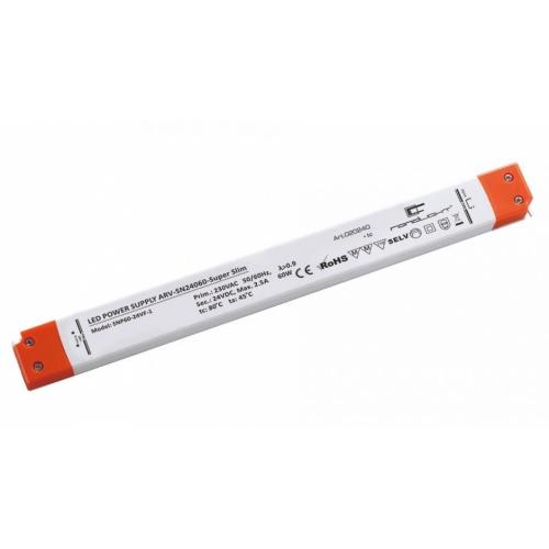 LED Netzteil LSN-superslim-24060 (24V, 2.5A, 60W) PFC