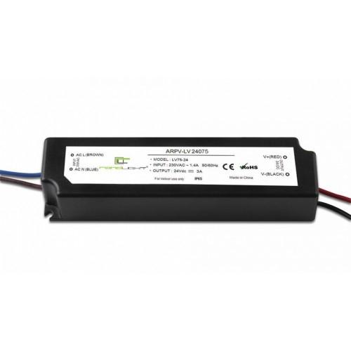 LED Netzteil LSPS-24075 (24V, 3A, 75W, IP65)