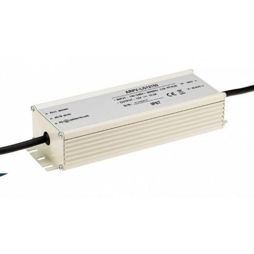 LED Netzteil LSPS-G12150 (12V, 12.5A, 150W, PFC) IP67
