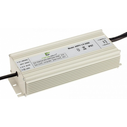 LED Netzteil LSPS-G24200 (24V, 8.25A, 200W, PFC) IP67