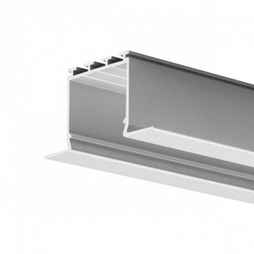 LED Einbauprofil LARKO-24-2000 2m eloxiert