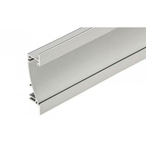 LED Einbauprofil FLAT10 2m, eloxiert