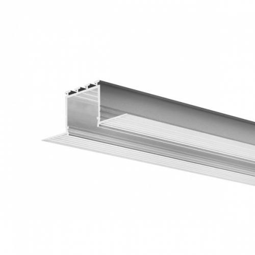LED Einbauprofil KOZIEL-24-2m, eloxiert