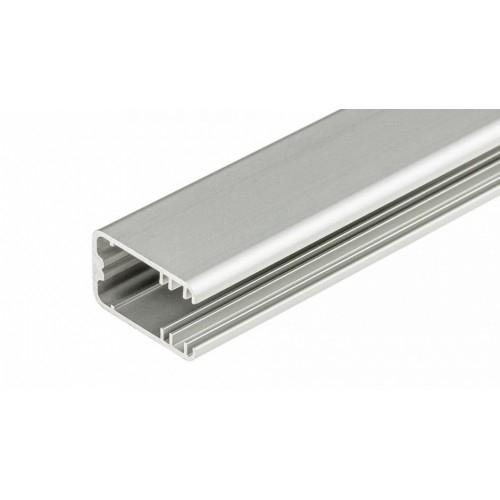 LED Glasprofil MIKRO-LINE-T-12-1m, eloxiert