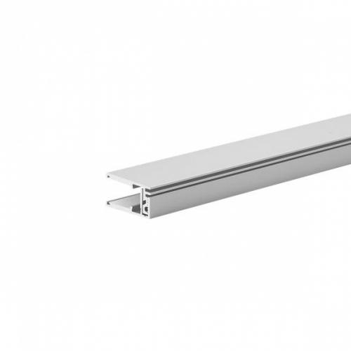 LED Glasprofil KRAV810, 2m, eloxiert