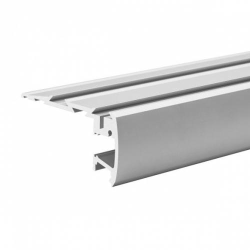 LED Treppenstufenprofil STEP-2000, 2m, eloxiert