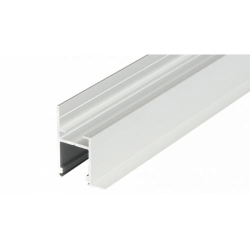 LED Profil FRAME-T-14-2000, eloxiert